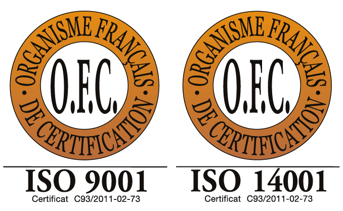 Certification 9001 14001